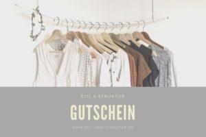 Gutschein Stil & Struktur